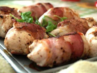 Шашлык из мяса курицы