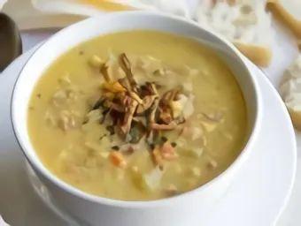 Суп гороховый с копченым мясом
