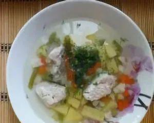 Суп с замороженными овощами