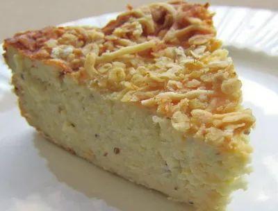 Быстрый капустный пирог (на кефире)