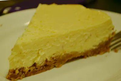 Лимонный пирог с изюмом